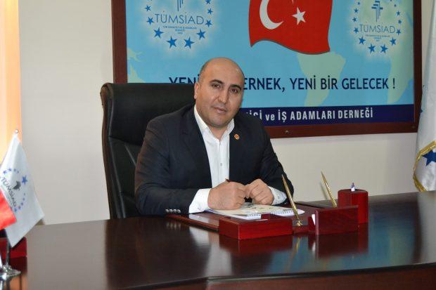 TÜMSİAD Gebze Başkanı Korkmaz'dan, Bayram mesajı