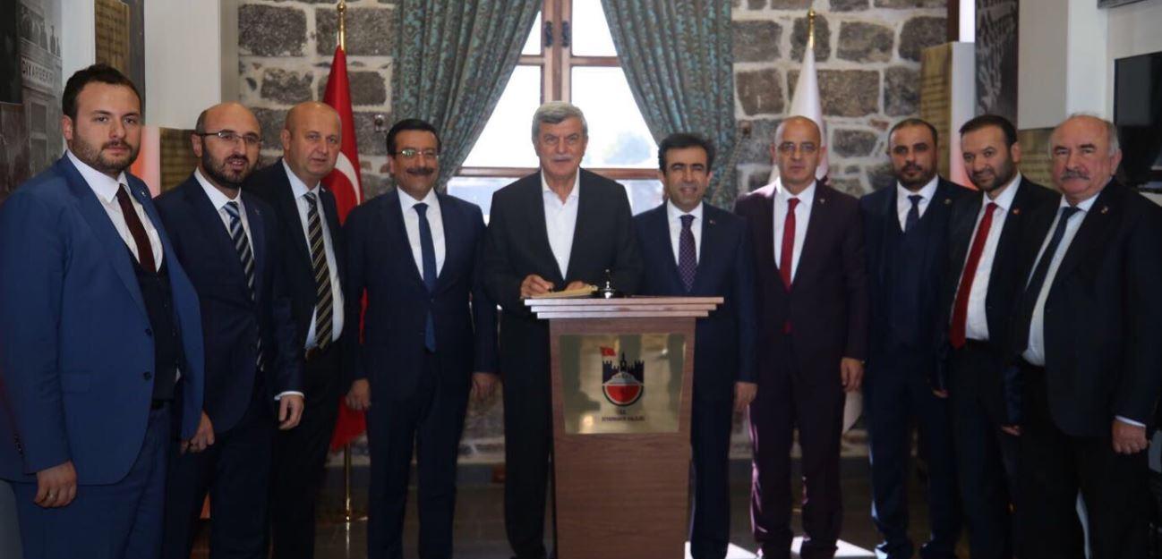 İl Başkanlarından Diyarbakır Ziyareti