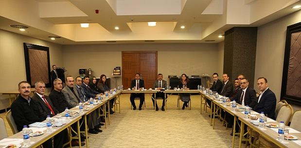 Darıca'da 2018 projeleri masaya yatırıldı.
