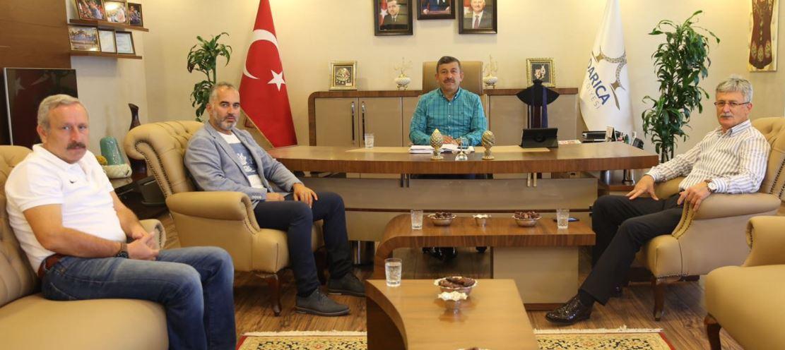 Başkanlardan Karabacak'a Ziyaret