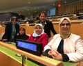Katırcıoğlu, BM Kadının Statüsü Komisyonunda konuştu.
