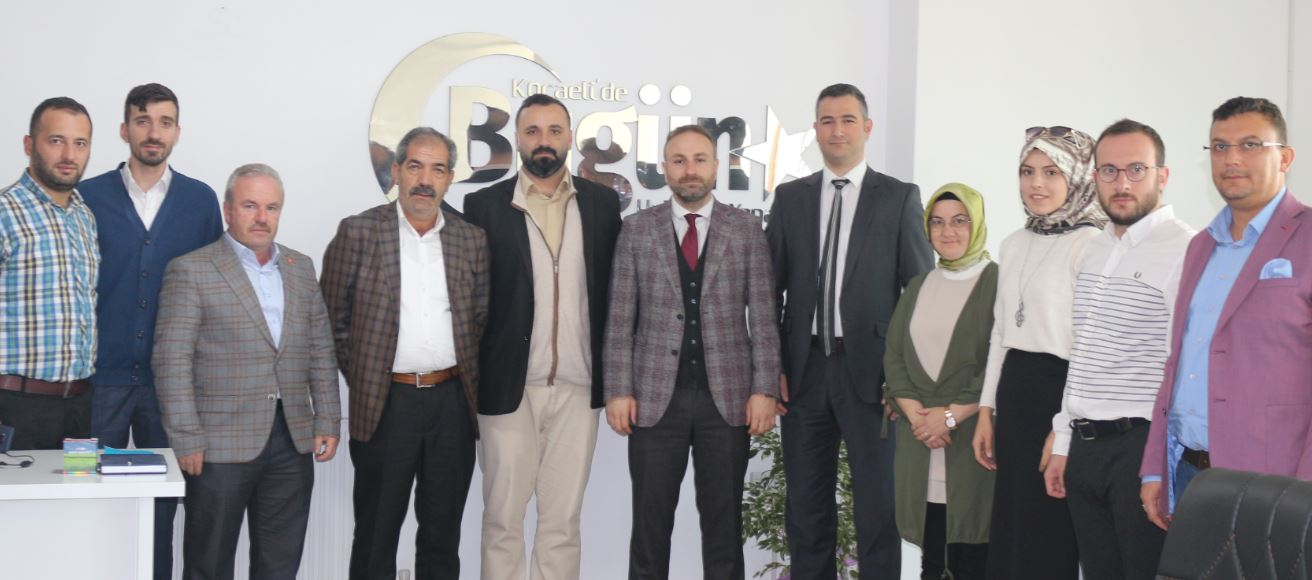 Ak Parti Çayırova'dan Gazetemize Ziyaret!