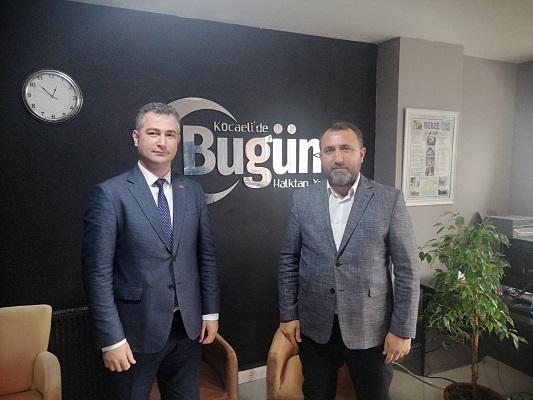 Aksu'dan 'Çalışan Gazeteciler Günü' Ziyareti