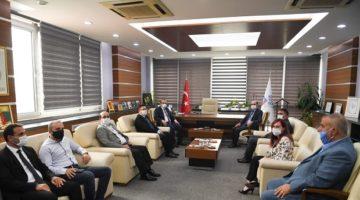 KTO Vali Yavuz'u Ağırladı
