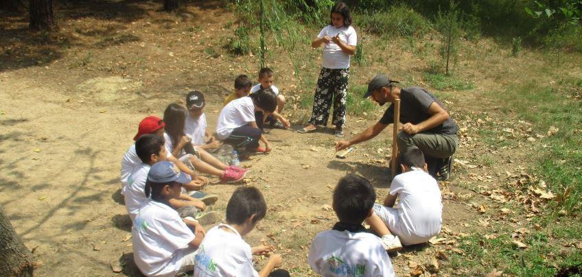 Çayırova'da Minik Doğa Kâşifleri Yetişiyor