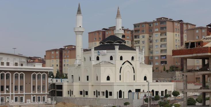 Büyük Çağdaşkent Camii'nde Son Rötuşlar