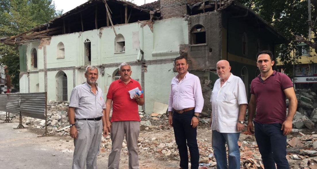 Korkmaz'dan yeni cami talebine destek