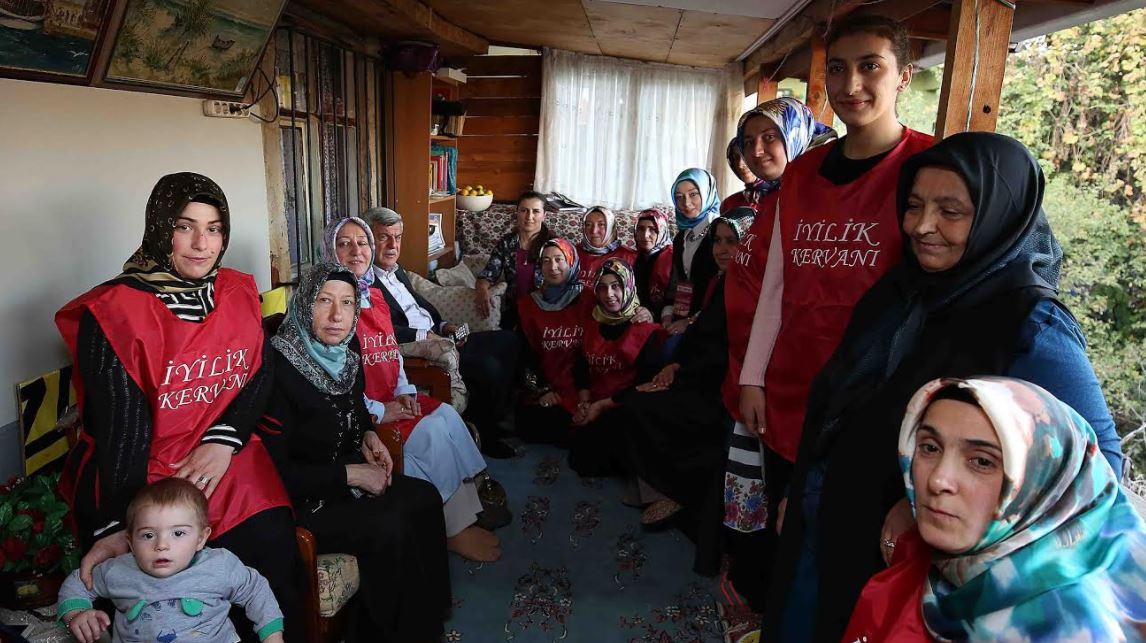 Başkan Karaosmanoğlu'ndan Gebze'de çat kapı