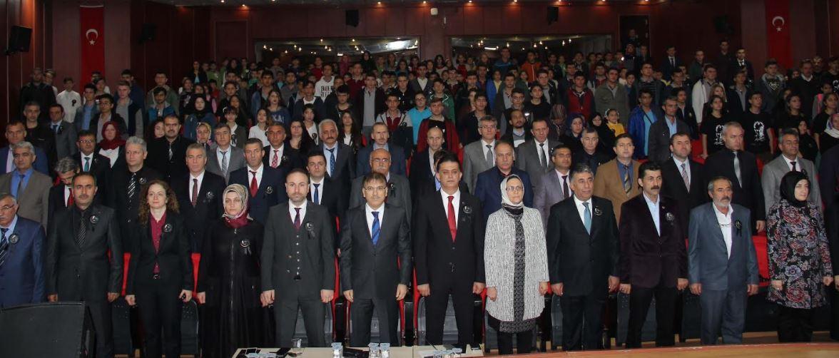Çayırova'da 10 Kasım Törenleri