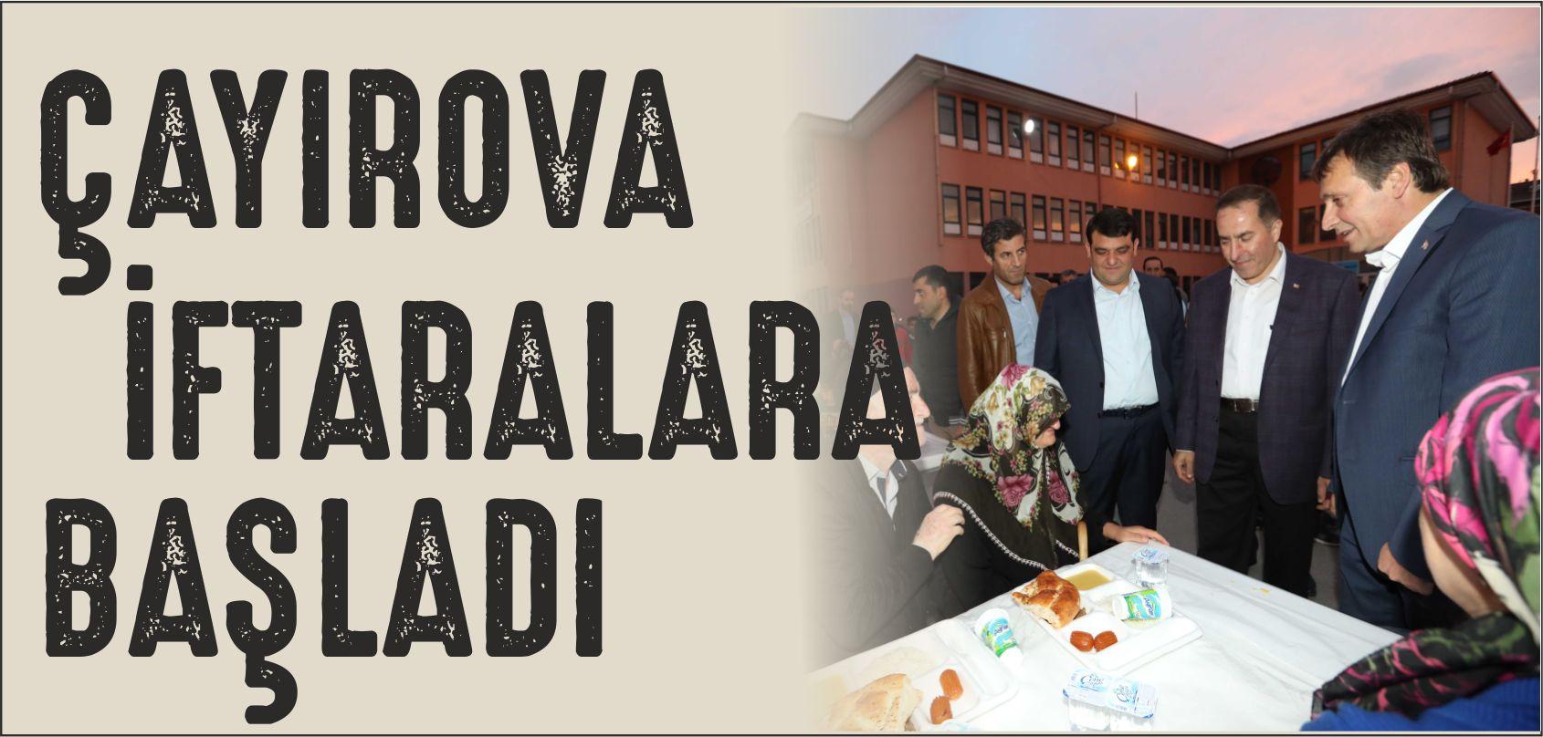 Çayırova Belediyesi İftar Programlarının İlki İnönü Mahallesinde