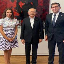 'Seçilmiş başkan olarak  Genel Başkan Kılıçdaroğlu ile'