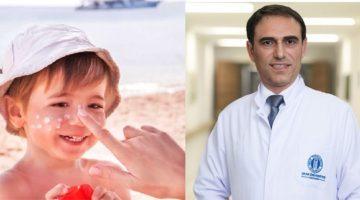 """""""Güneş Yanıkları Çocuklarda Cilt Kanseri Riskini Arttırır"""""""