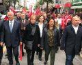 CHP Çayırova'da Cumhuriyet için Yürüdü