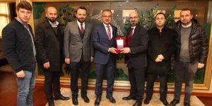 Fırtına Trabzonsporlular Köşker'i ziyaret etti