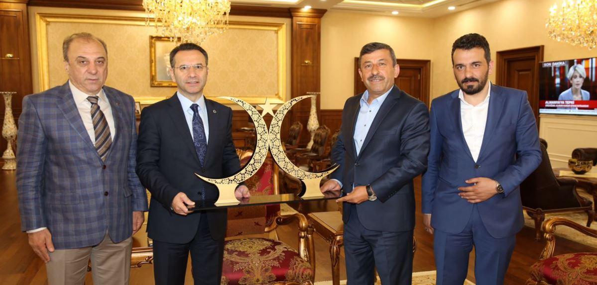 Darıca'dan Vali Aksoy'a İlk Ziyaret