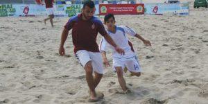 Kocaeli'de Plaj Futbolu Ligi