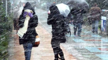 Kocaeli AFKOM'dan soğuk hava ve kar uyarısı