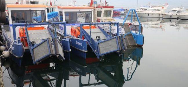 Yeni deniz süpürgeleri hizmete girdi