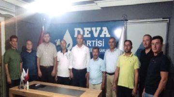 Dernek Başkanlarından DEVA'ya Ziyaret