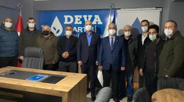 Çayırova İYİ Parti'den DEVA ziyareti