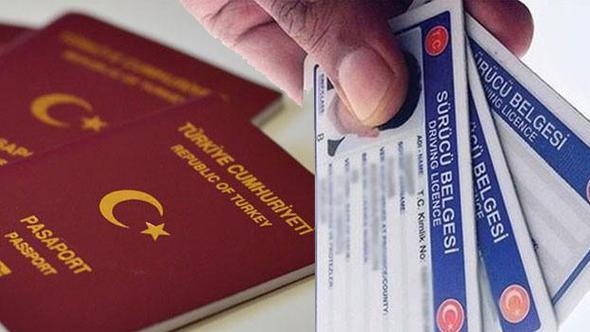 Ehliyet ve Pasaport Alacaklar Dikkat!