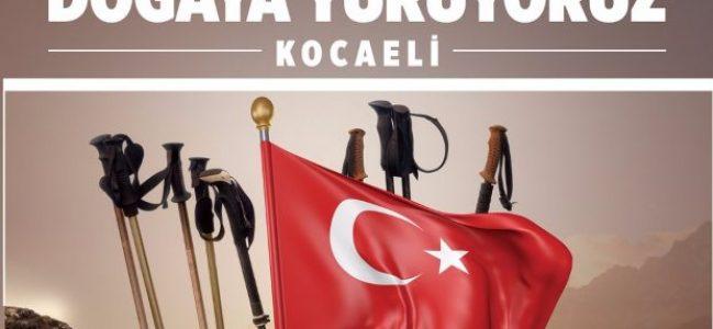Büyükşehir'den ''Doğaya Yürüyoruz Kocaeli'' Etkinliği
