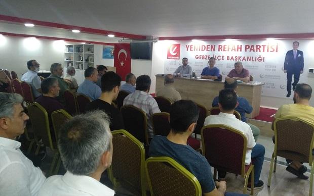 """""""Bugünün muhalefeti, yarının iktidar partisi olarak haykırıyoruz """""""
