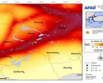 Elazığ Sivrice'de 6,8 büyüklüğünde deprem!
