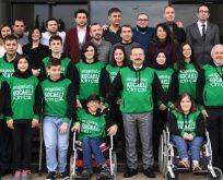 """""""Engelli vatandaşlarımızın Engelliler Haftasını kutluyorum"""""""