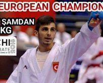 Eray Şamdan 6. Kez Avrupa Şampiyonu