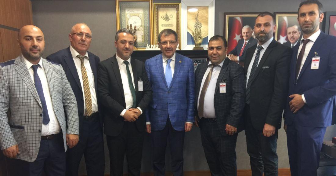 Saltaş ve Yönetiminden Ankara Çıkarması
