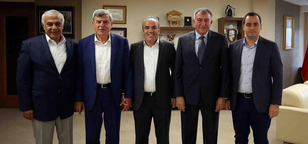 Erzincanlılardan Başkana Ziyaret