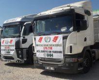 İHH Kocaeli'den Suriye'ye Acil Yardım