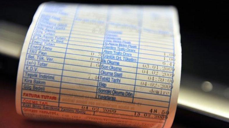 Elektrik faturası 68 lira ve üstünde olanlar dikkat!