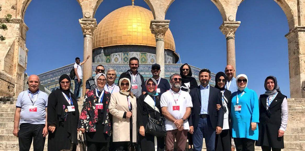 Katırcıoğlu'ndan Filistin ziyareti