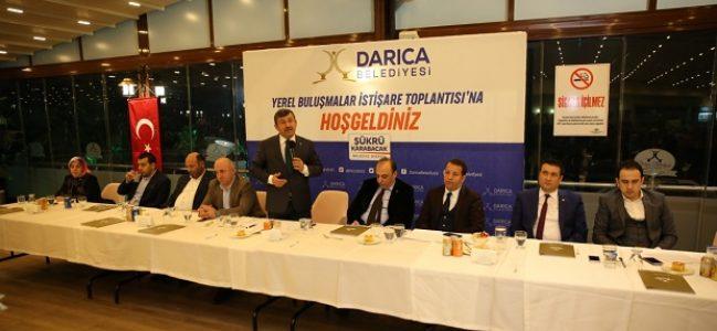 Darıca'da yerel Buluşma ve istişare toplantısı