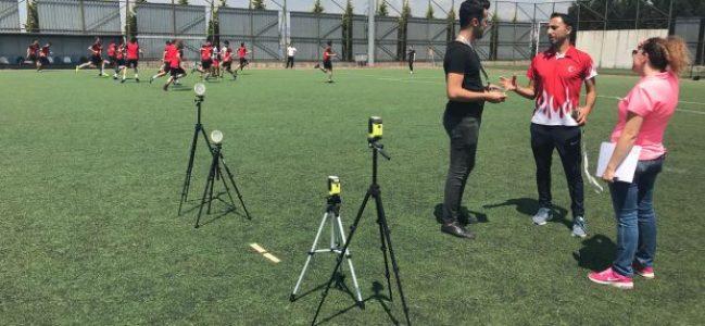 SPORTAM'da test ve ölçümler devam ediyor