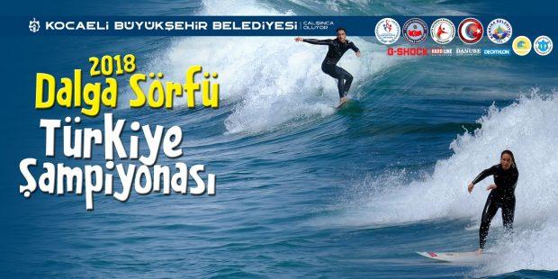 Kandıra'da 'Dalga Sörfü 2018 Türkiye Şampiyonası' Yapılacak