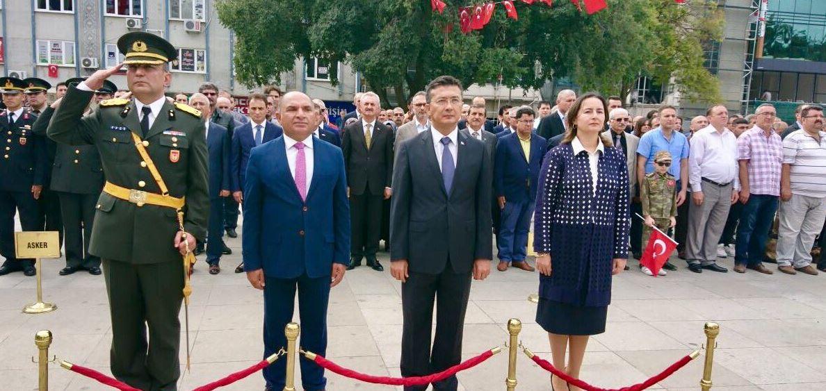 Gebze'de Zaferin 95. Yılı Törenle Kutlandı