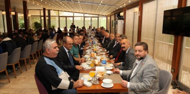 Gebze'de Muhtarlar Günü Kutlandı