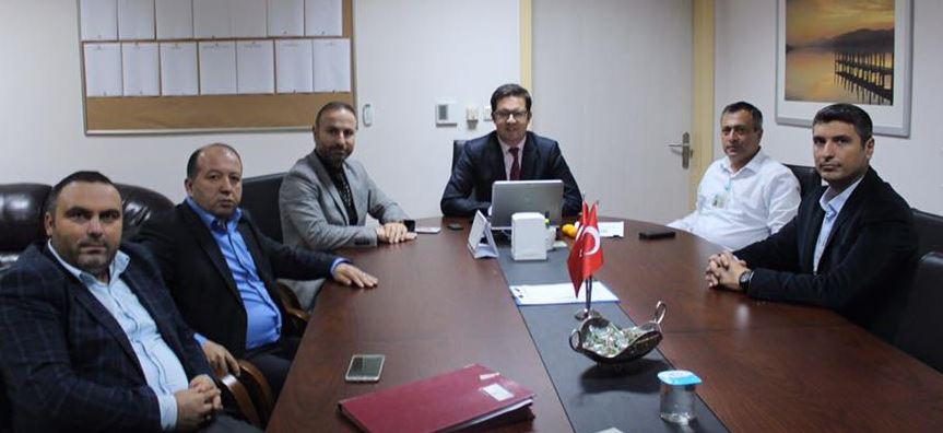 Başkan Gür'den Başhekim Nalbant'a Ziyaret!