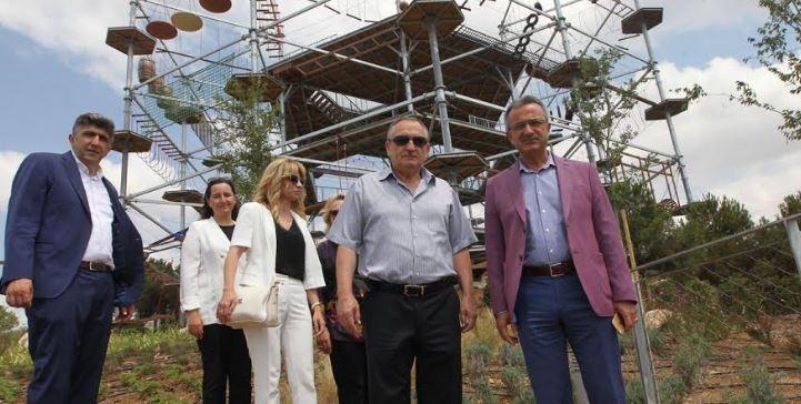 Başkanlar Macerayı gezdi