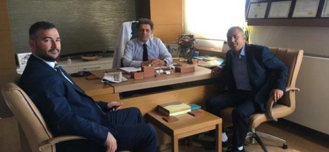 Kocaeli'de Bugün'den Dr. Hakan Höbek'e Ziyaret