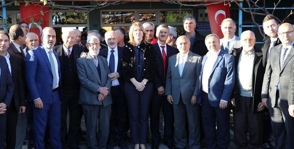 Kocaeli'ye gelen bakandan Türk hoşgörüsüne övgü