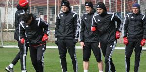 Sivasspor'da Beşiktaş maçı hazırlıkları sürüyor
