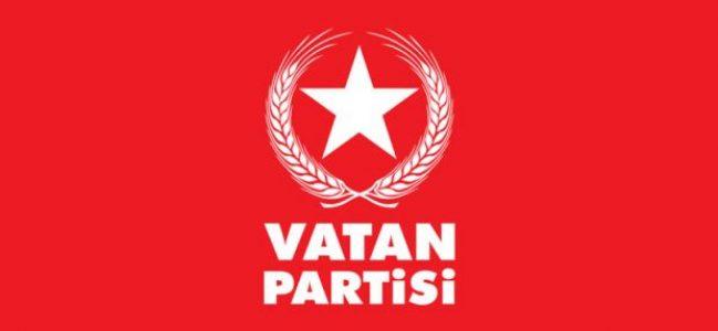 Vatan Partisi Kocaeli Milletvekili Aday Listesi