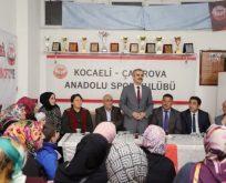 """Çiftçi, """"Çayırova'yı spor kenti yapacağız"""""""