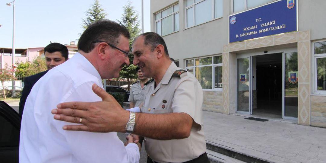 Bayram'dan, Alay Komutanı'na ziyaret