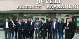 İlyas Şeker'den Kayseri ve Nevşehir'deki AK Partili belediyelere ziyaret