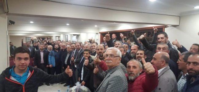 'Saadet Partisi barajı geçemez olgusu yıkılmıştır'